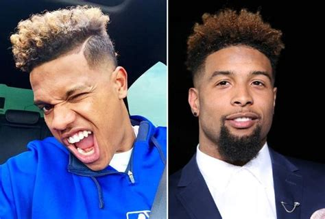 odell beckham jr haircut name odell beckham cut hairstyle gallery