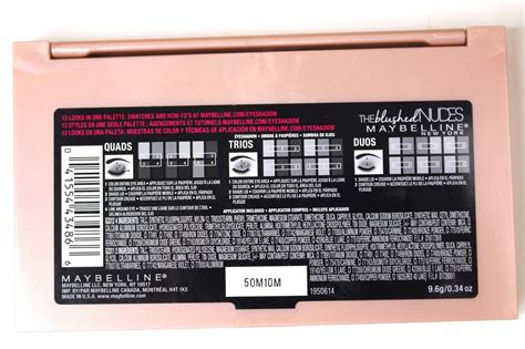 The Blushed the daily bailey b review swatches maybelline the