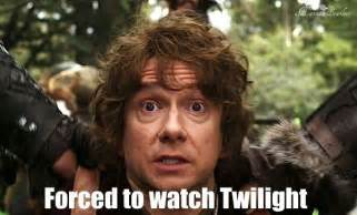 The Hobbit Meme - twilight the hobbit meme middle earth pinterest