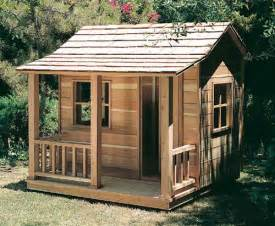 Shed Playhouse Plans by Child S Playhouse