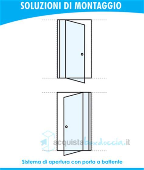 porta battente doccia porta doccia battente 85 cm trasparente