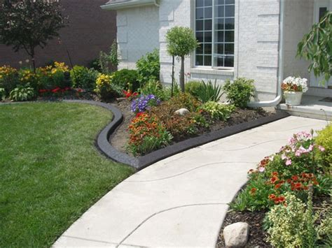 Flower Garden Edging Ideas Beautiful Flower Bed Edging Ideas For Floweriest Garden A Neat Edge Between The Lawn Flower