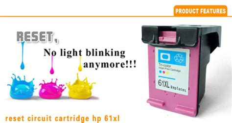 reset hp deskjet 1050 ink level wholesale reset chips for hp 61 xl remanufactured ink
