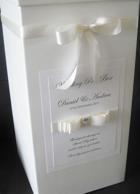 Wedding Gift Post Box by Personalised Wedding Post Box Wishing Well All Colours