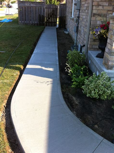 Backyard Sidewalk Ideas 126 Best Images About Backyard Reno Ideas On Pinterest Swimming Pool Designs Exposed