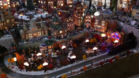 miniature extreme christmas village