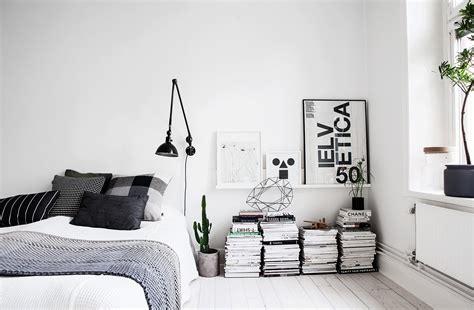 monochrome home decor decoratingspecial com witte scandinavische slaapkamer inrichting huis com
