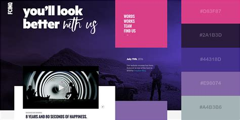 best colors for websites 50 gorgeous color schemes from stunning websites visual