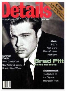 Details Of Angelinas Will by Brad Pitt Cover Brad Pitt Magazine Covers
