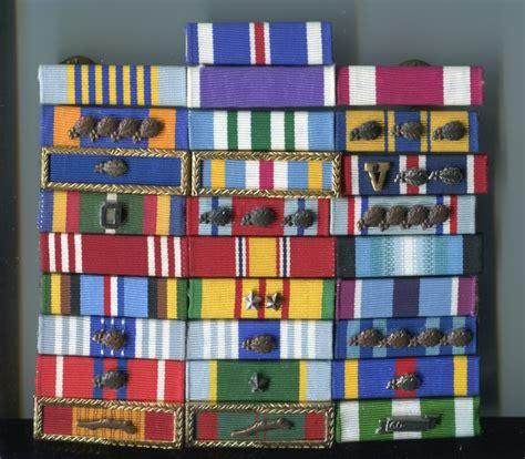 usaf pj ribbon rack medals decorations u s