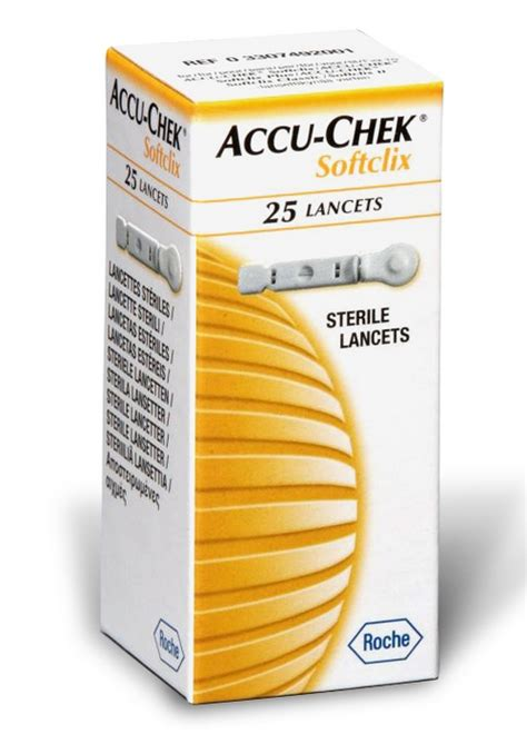 Accu Chek Softclix Lancet Jarum Accucheck click on image to enlarge