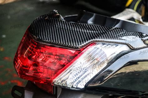 Tutup Cover Knalpot Nmax Carbon Yamaha N Max Limited carbon fiber taillight cover for yamaha n max 125 155 mos