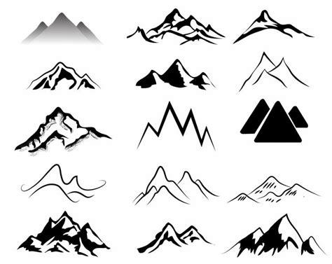 mountains   ai eps   vector
