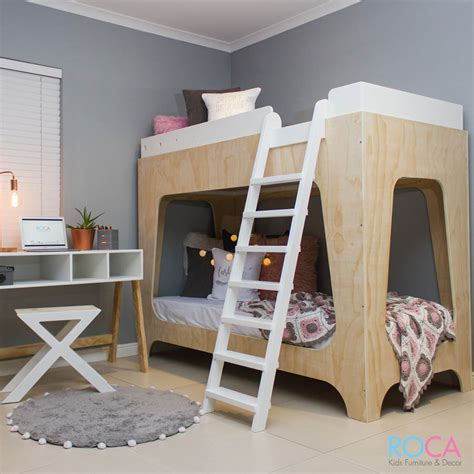 kids double bed swede trendy modern children s double bunk bed order