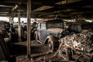 treasure trove of classic cars worth 163 12m found on