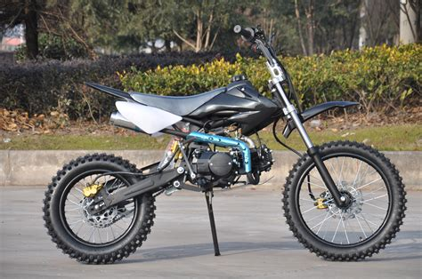 black motocross bike pit bike 125cc fx 125f