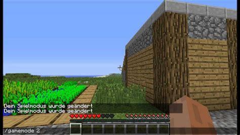 Gamemode Zero Minecraft | tutorial minecraft gamemode 228 ndern lws4live youtube