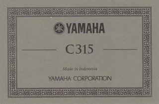 Harga Gitar Yamaha Ori C315 yamaha c 315 classic guitar