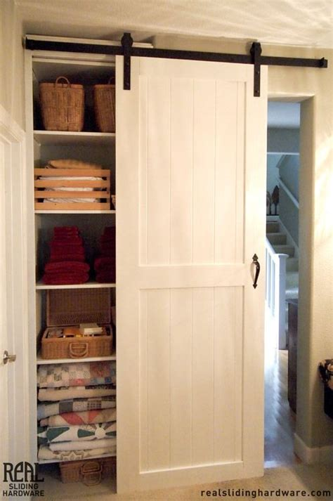 Barn Closet Doors White Closet Sliding Barn Doors Decorating Ideas