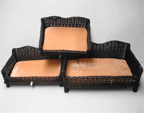 giant couch bed giant huge big wicker willow dog pet bed basket sofa couch