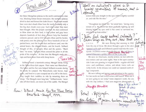 Annotated Essay by Mentor Texts