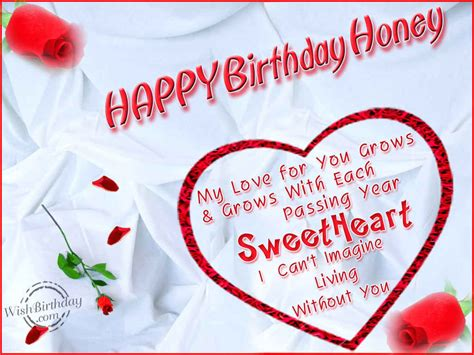 Happy Birthday Honey Wishes Birthday Wishes For Husband Birthday Images Pictures