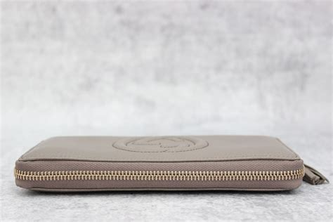 J Gucci Soho Kas gucci grey leather soho wallet at s consignment