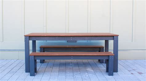 modern bench dining table modern ep101 diy outdoor dining table