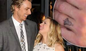 kristen bell tattoos dax shepard debuts kristen bell at this is where i