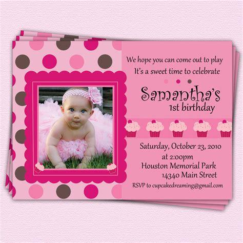 1st birthday invitation cards sles birthday invitations drevio invitations