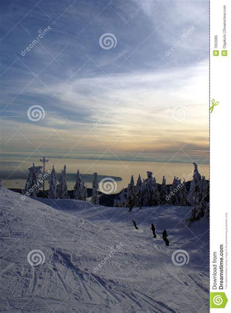 Cypress Mountain Gift Card - cypress mountain seaview royalty free stock photo image 7053065