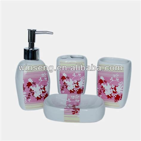 Fish Bathroom Accessories Ceramic Tropical Fish Design Bathroom Accessories Made In China Buy Bathroom Accessory Sets