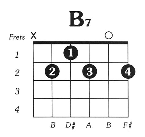 Easy B Chord On Acoustic Guitar