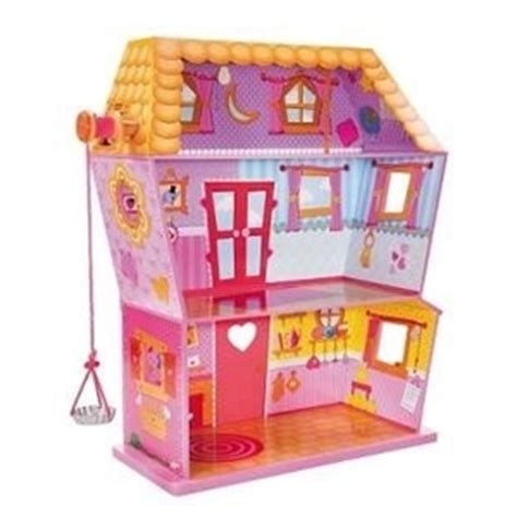 lalaloopsy large doll house buy lalaloopsy large doll sew magical house dollhouse playset graysonline australia
