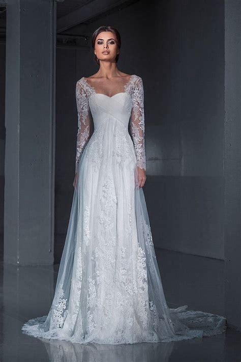 Wedding Dresses With Sleeves by Lace Wedding Dress Wedding Dress Sleeves By