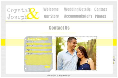 Wedding Advice Websites by Purpinka Designs Wedding Websites The Destination