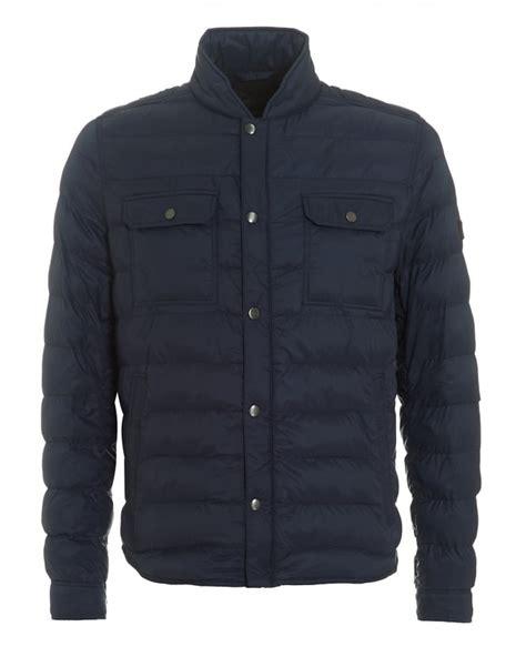 Mens Lightweight Quilted Jacket by Hugo Orange Mens Orin Quilted Jacket Lightweight