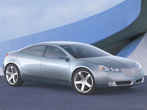 Pontiac Concept by 2003 Pontiac G6 Concept Pontiac Supercars Net