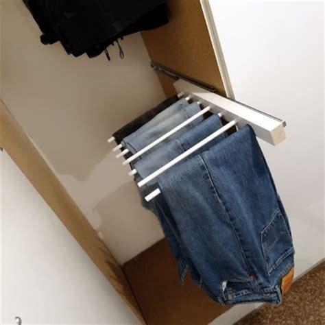 Jean Rack For Closet diy trouser rack hanger diy