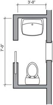3ft x 4ft half bath or guest bath layout bathroom