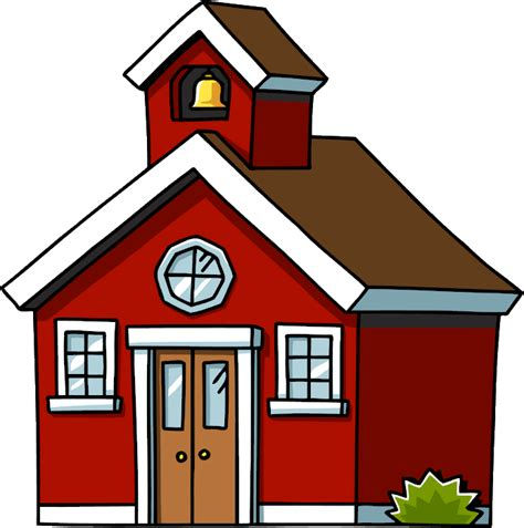 School House by School House Clipart The Cliparts
