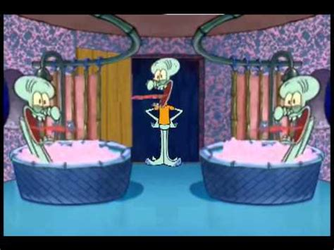 squidward screaming in the bathtub double squidward drops in squidward house musica movil