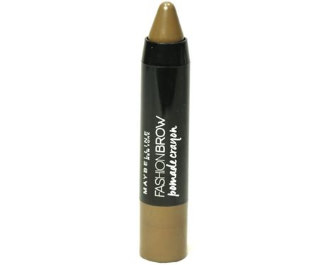 Maybelline Fashion Brow Pomade Crayon Eyebrow Pensil Alis maybelline fashion brow pomade crayon review swatches