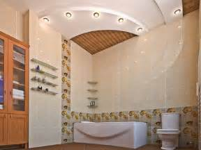 false ceiling designs for bathroom latest tips suspended spotlights lighting ideas