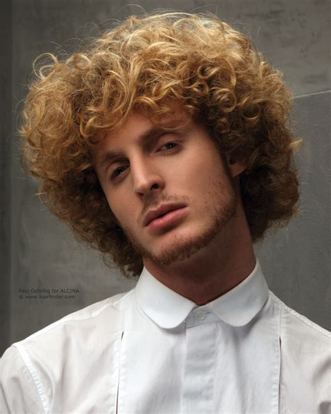 neatly groomed hairstyles layered men s hairstyle with curls and a long fringe