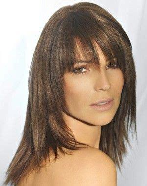 define coiffed hair photo coupe cheveux mi long avec frange femme lannaginasisi blog