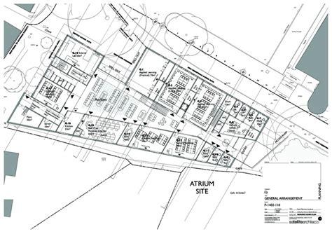 atrium floor plan atrium studio satellite architects archdaily