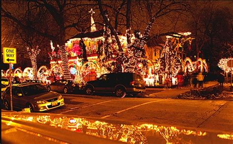 where to see christmas light displays in chicago