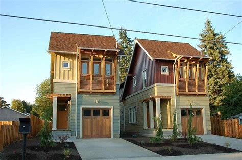 infill lot narrow lot modern infill house plans elegant build narrow
