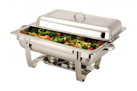 Dish Storage Ideas by Full Size Stackable Stainless Steel 8 5 Ltr Chafer Chafing